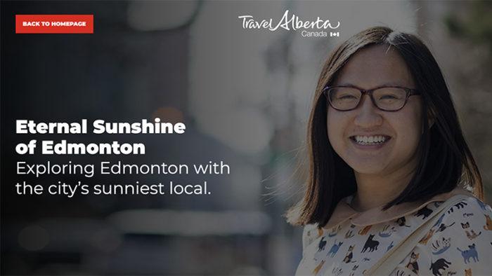 CBC Travel Alberta - Linda Hoang