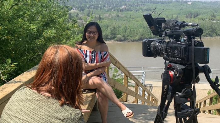 CityNews - Edmonton Cat Festival - Linda Hoang