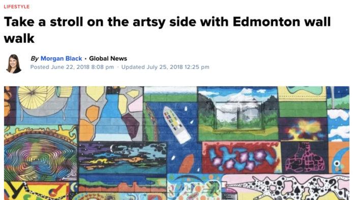 Global Edmonton - Instagrammable Walls