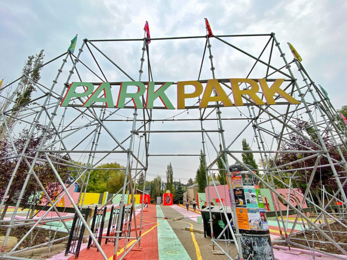 Park Park - Calgary Parking Authority - Lot 43 - Inglewood - Instagrammable Capture Calgary - Explore Alberta 7