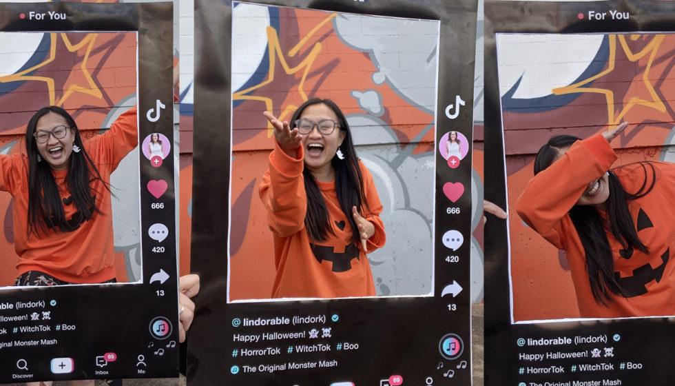 TikTok Halloween Costume - Linda Hoang - Lindork - Lindorable - Explore Edmonton - Explore Alberta - DIY - Social Media Blog