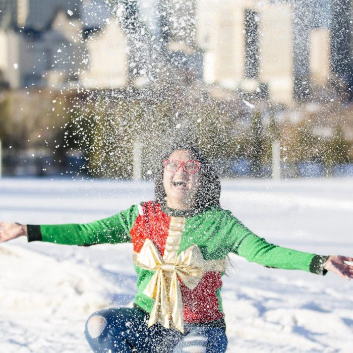 A Very Lindork Christmas - 12 Days of Christmas Giveaways - Edmonton Alberta - Linda Hoang