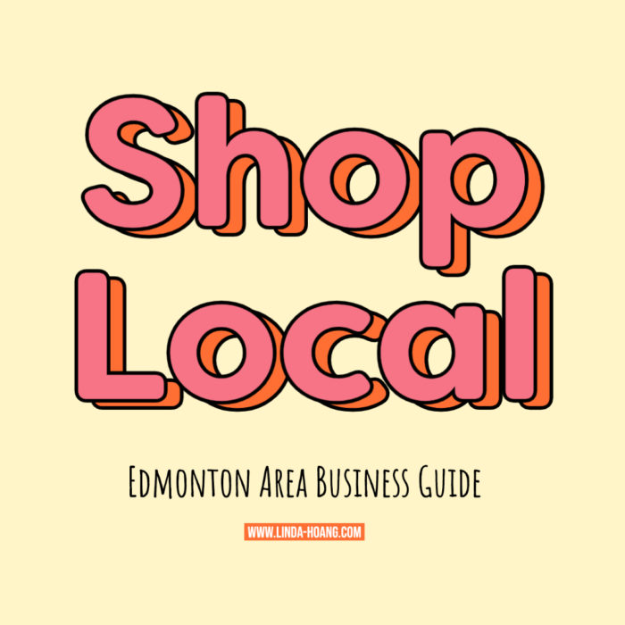 Edmonton Area Shop Local Business Restaurants Guide 2