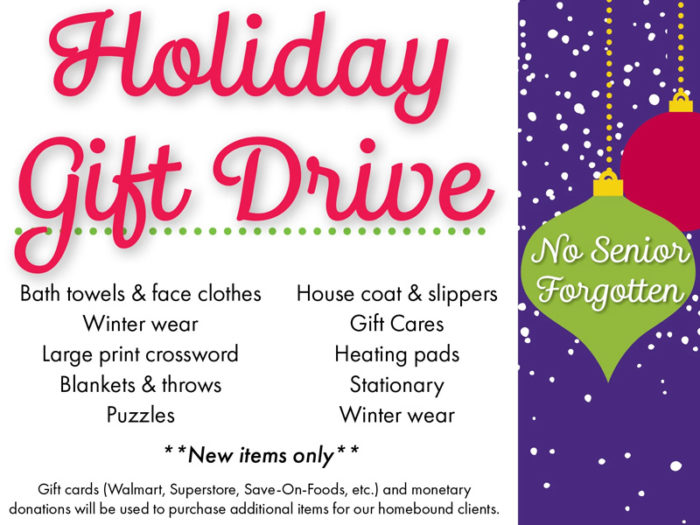 Edmonton - Charity - Non Profits - Meals on Wheels Holiday Gift Guide - Volunteer - Donate