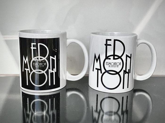 Edmonton Mug Adam Pearce - Explore Edmonton - Made in Edmonton - Ultimate Gift Guide Linda Hoang