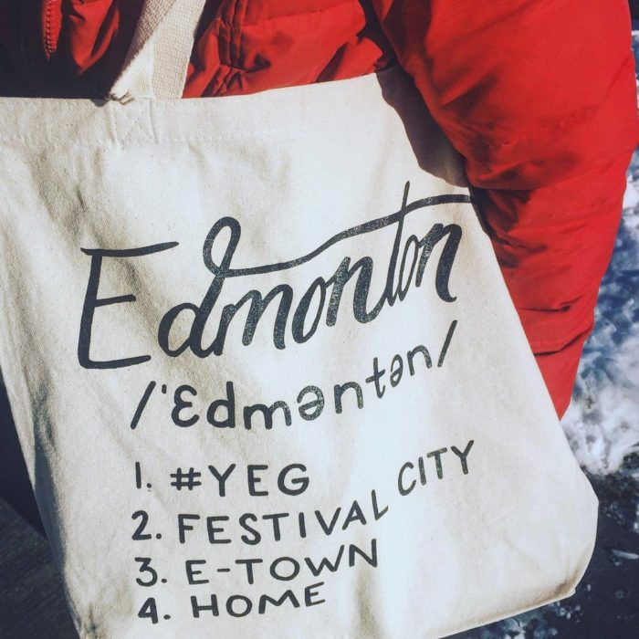 Edmonton Tote Bag - Explore Edmonton - Support Small Businesses - Adopt A Shop YEG