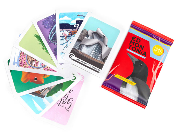 Edmontonia Trading Cards - Explore Edmonton - Made in Edmonton - Ultimate Gift Guide Linda Hoang