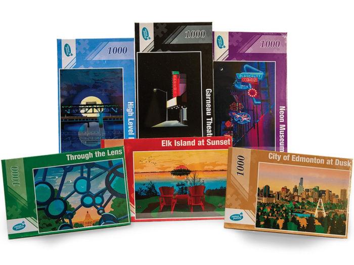 Explore Edmonton - Made in Edmonton - Puzzles - RSS Designs by Riyaz Sharan