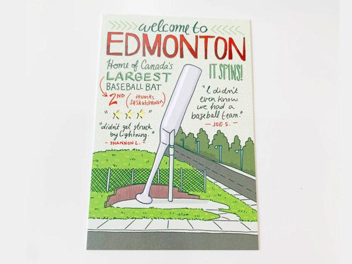 Jojo & Gun Edmonton Post Cards - Explore Edmonton - Made in Edmonton - Ultimate Gift Guide Linda Hoang