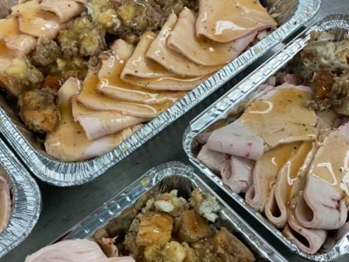 Bully Food Truck - Holiday Christmas Grab and Go Dinner Meal