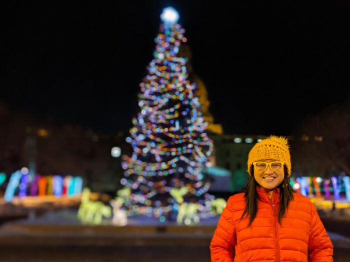 Free Festive Outdoor Light Experiences - Christmas Lights - Edmonton Area - Alberta Legislature