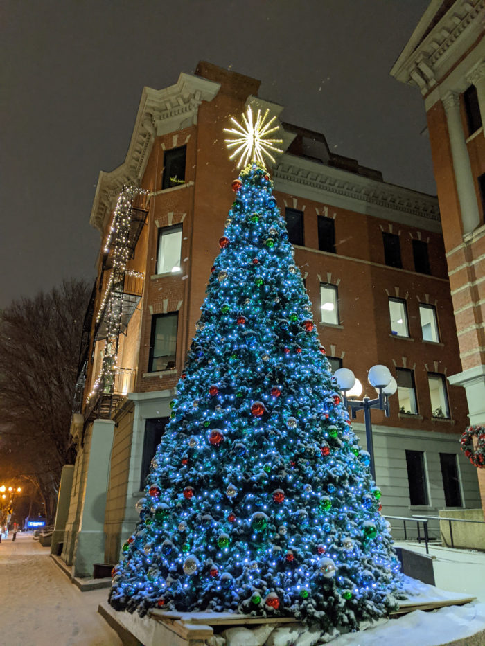 Free Festive Outdoor Light Experiences - Christmas Lights - Edmonton Area - LeMarchand Mansion Downtown