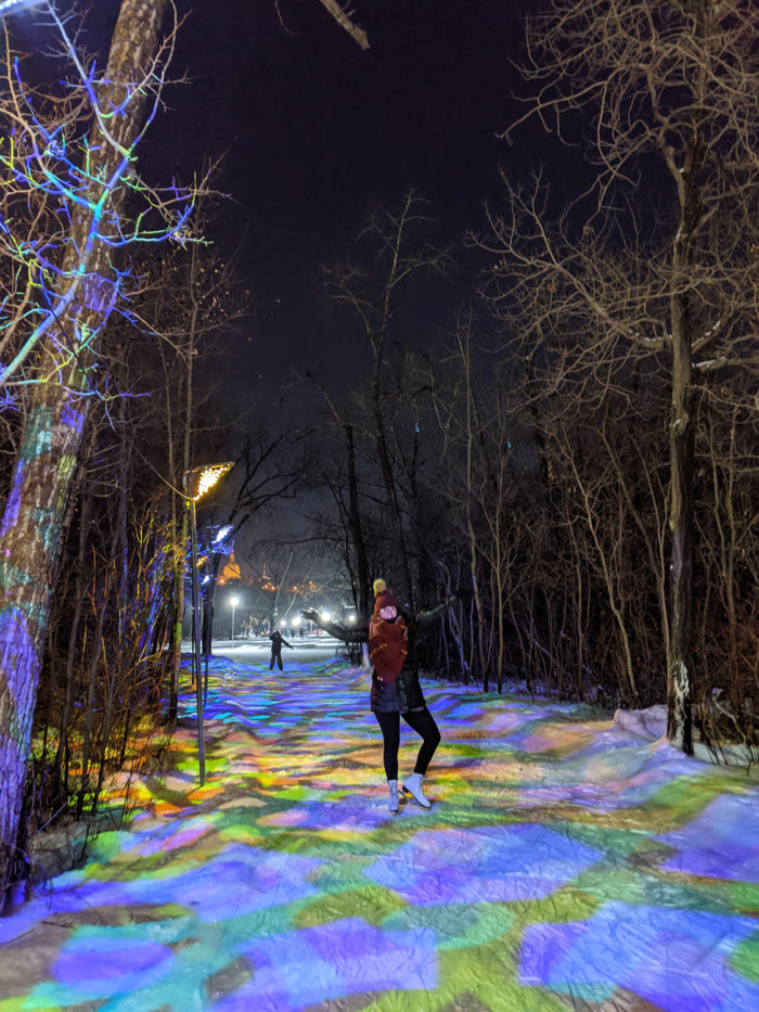 Free Festive Outdoor Light Experiences - Christmas Lights - Edmonton Area - Victoria Park IceWay
