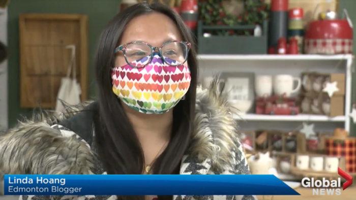 Global Edmonton - Adopt a Shop ATB Neighbourhood. Hop - Linda Hoang