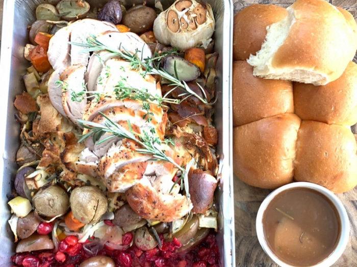 MilkCrate - One Pan Turkey Dinner - Christmas Holiday Meals Edmonton Food