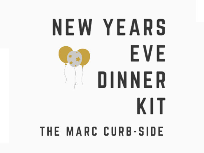 New Years Eve Explore Edmonton Dec 31 2020 Virtual Events Take Out Meals Things To Do - The Marc New Years Dinner Kit