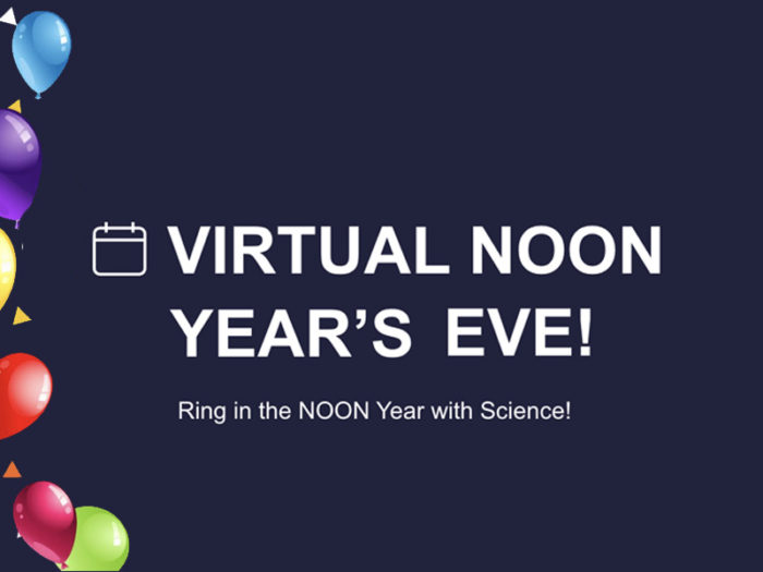 New Years Eve Explore Edmonton Dec 31 2020 Virtual Events Take Out Meals Things To Do - Virtual Noon Years TELUS World of Science Experiments