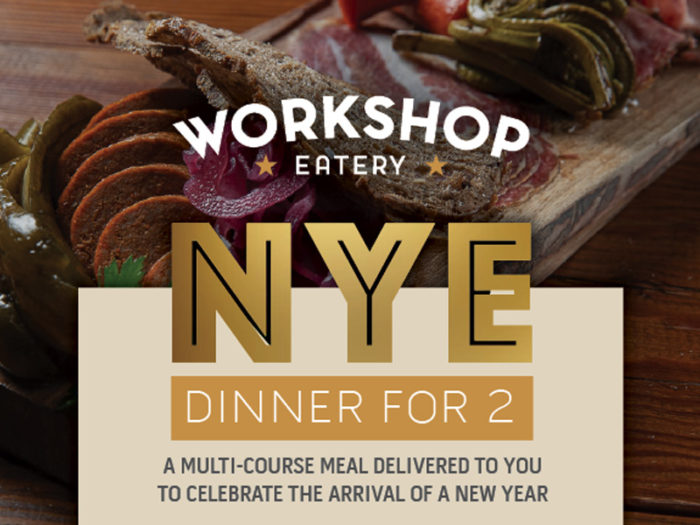 New Years Eve Explore Edmonton Dec 31 2020 Virtual Events Take Out Meals Things To Do - Workshop Eatery