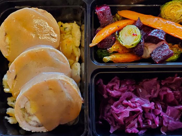 Smokehouse BBQ - Holiday Christmas Turkey Dinner Individual- Edmonton