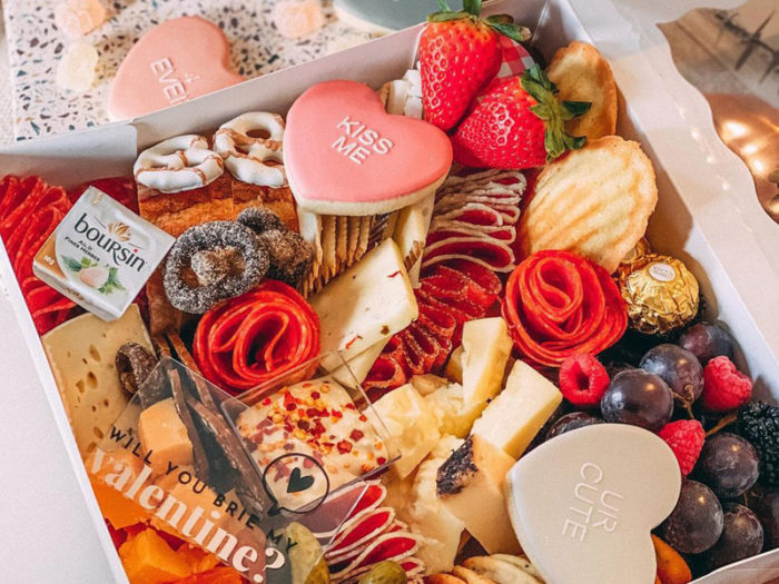 All in the Details - Valentines Charcuterie Box - Valentines Day - Romantic - Explore Edmonton - Food - Sweet Treats