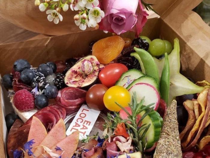 Art of Charcuterie - Hidden Rose Package - Valentines Day - Romantic - Explore Edmonton - Food - Sweet Treats
