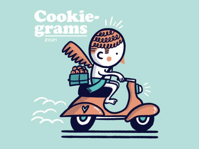 Bloom Cookie Co - Cookie Grams - Valentines Day - Romantic - Explore Edmonton - Food - Sweet Treats