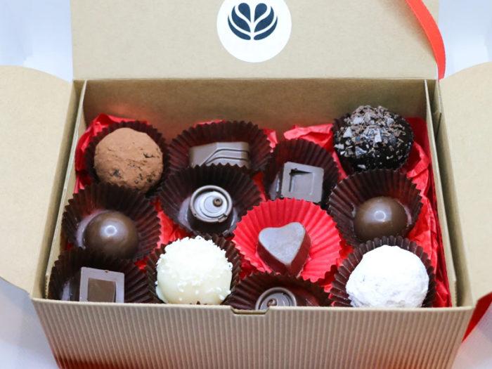 Cafe Zanzi - Chocolate Box - Valentines Day - Explore Edmonton - Food - Sweet Treats