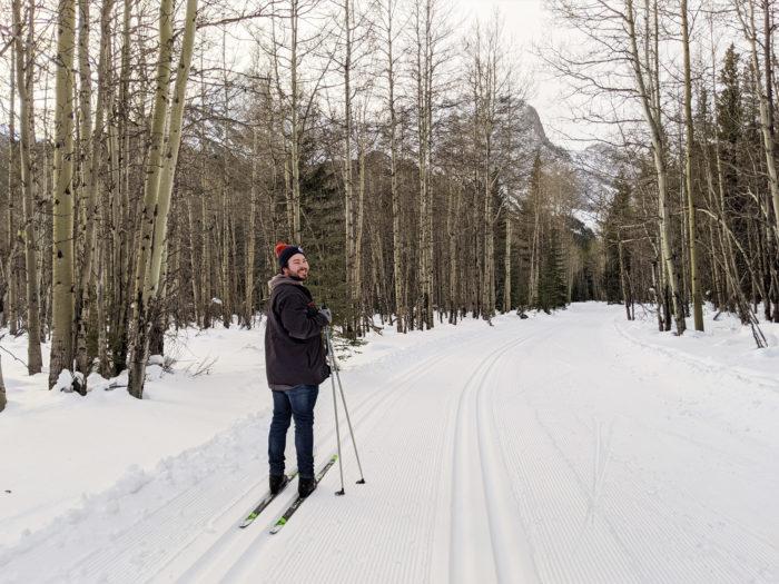 Cross Country Skiing Kananaskis Country Explore Alberta Canmore Rocky Mountains