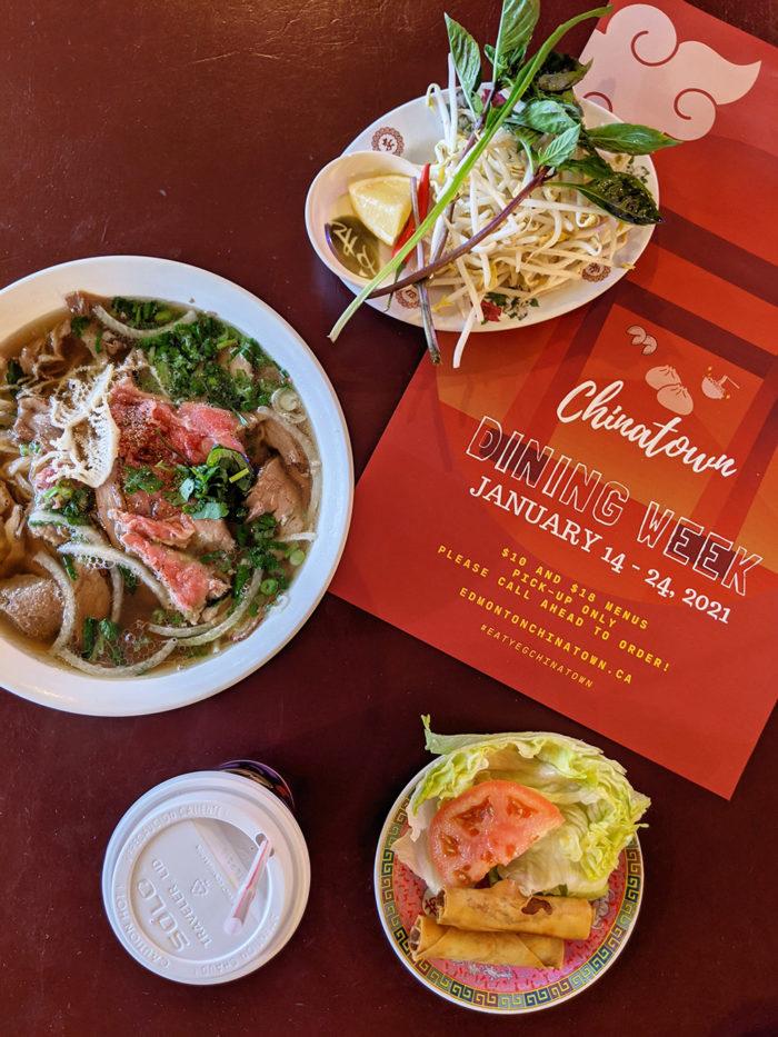 Edmonton Chinatown Dining Week - King Noodle House Pho Hoang - Explore Edmonton - Food