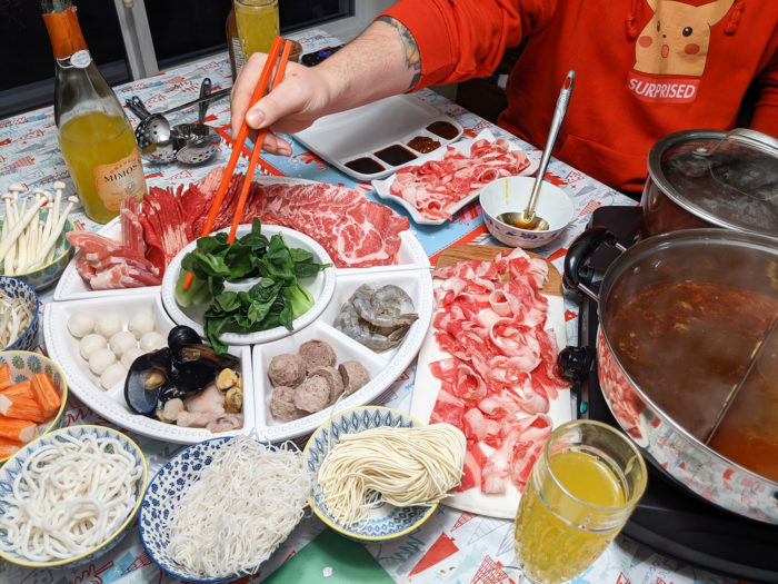 Home Hot Pot - How to Have Hot Pot at Home - Explore Edmonton - Chinese Food - Asian Fondue