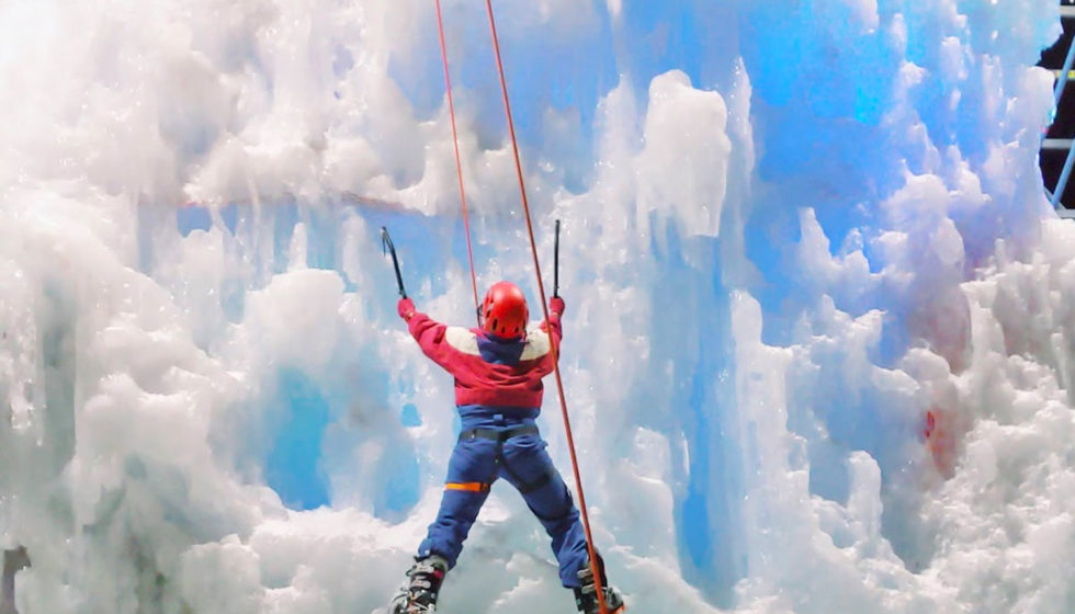 Ice Climbing - Explore Edmonton - ACC Edmonton Ice Wall - Edmonton Ski Club - Alpine Club of Canada - Travel Alberta - Winter City