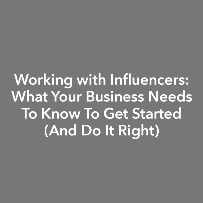 Linda Hoang Digital Corp Training Sessions - Working with Influencers - Influencer Marketing