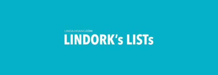 Lindorks Lists - Linda Hoang Newsletter Banner