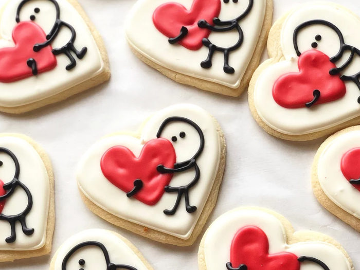 The Art of Cake - Youre My Person Cookies - Valentines Day - Romantic - Explore Edmonton - Food - Sweet Treats
