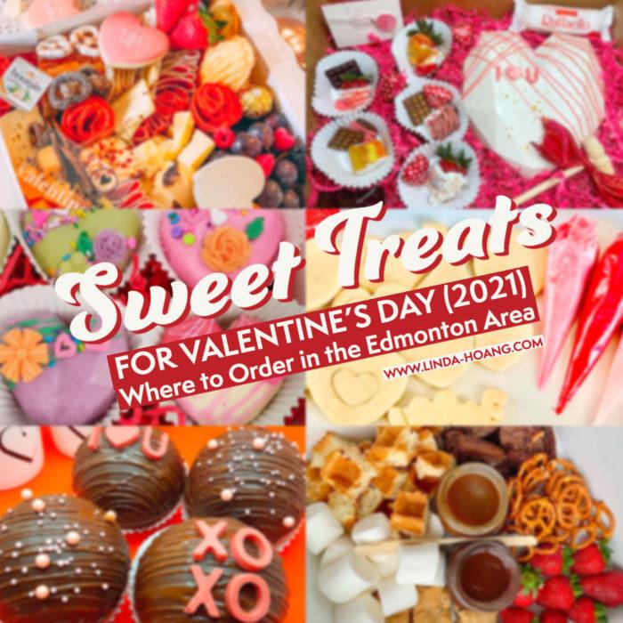 Valentines Day - Romantic - Explore Edmonton - Food - Sweet Treats To Order