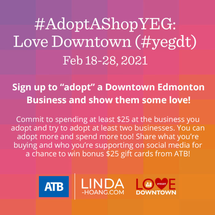 Adopt A Shop Love Downtown - Rules