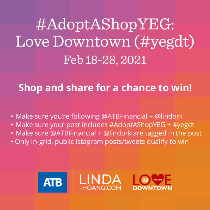 Adopt a Shop Love Downtown - Social Share