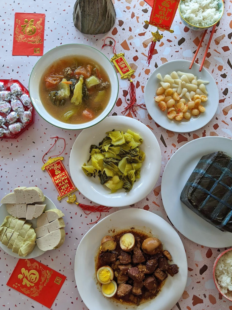 Vietnamese Tet Lunar New Year Food Edmonton Traditional Meal