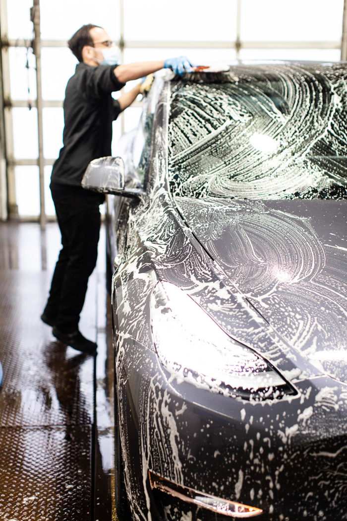 Bubbles Car Wash - Edmonton - Electric Vehicles - Alberta - Tesla Model Y
