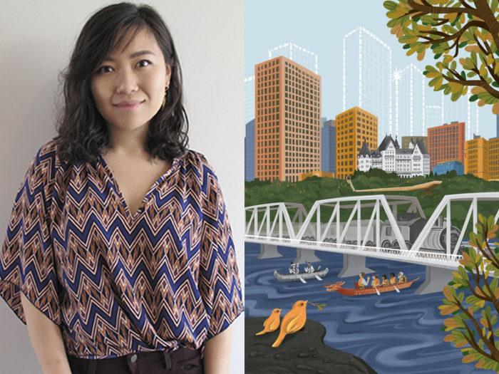Emily Chu Illustration - 41 Edmonton Area Women Artists Makers Creators Business Owners - Explore Edmonton