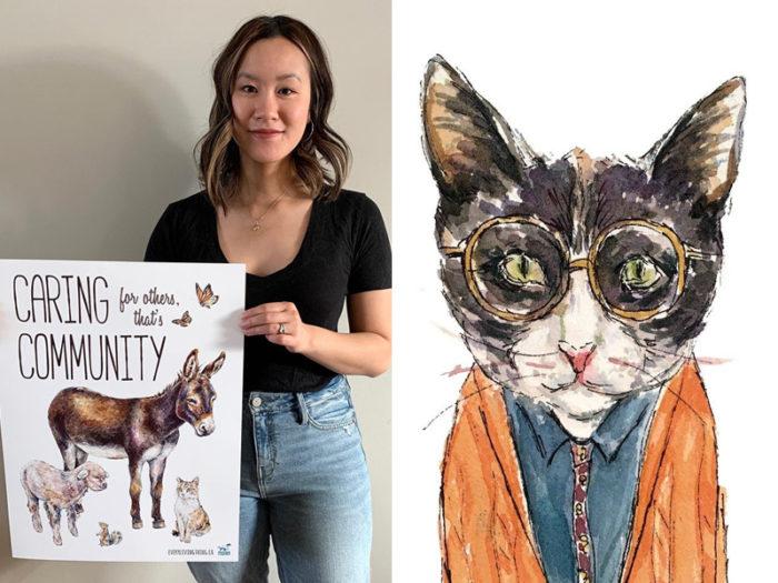 Gloria Ho Illustration Art - 41 Edmonton Area Women Artists Makers Creators Business Owners - Explore Edmonton