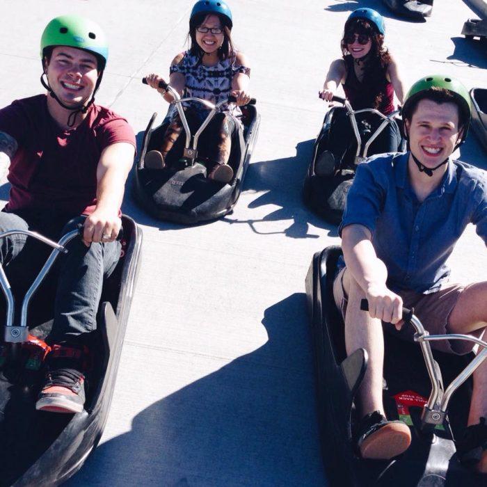 Go Kart WinSport Calgary Skyline Luge Adventure Explore Edmonton