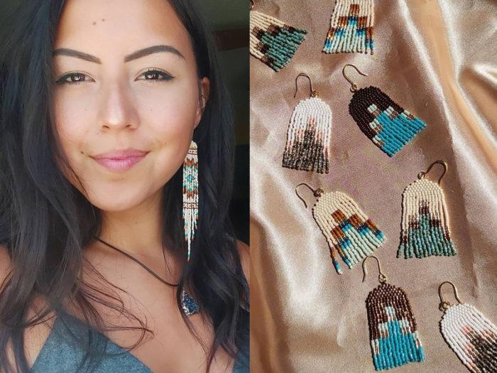 Mâmawi Creations Chauntelle Atcheynum - 41 Edmonton Area Women Artists Makers Creators Business Owners - Explore Edmonton - Indigenous
