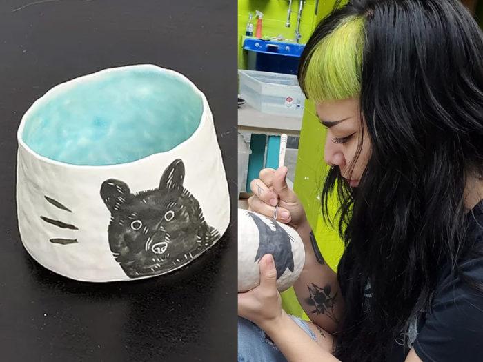 Mary Roach - Skavenger Ceramix - 41 Edmonton Area Women Artists Makers Creators Business Owners - Explore Edmonton