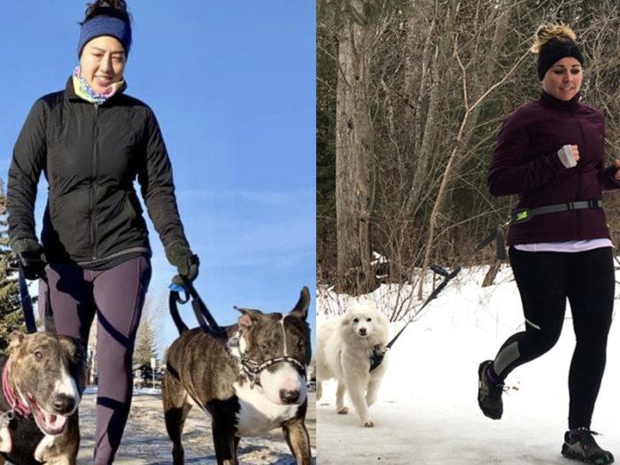 Nikki and Steph - Dog Jogs - 41 Edmonton Area Women Artists Makers Creators Business Owners - Explore Edmonton