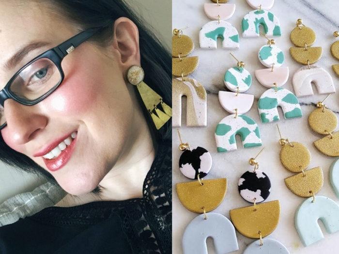 Rachel Bingham Bang Bang Bijoux - 41 Edmonton Area Women Artists Makers Creators Business Owners - Explore Edmonton - Designer - Jewelry