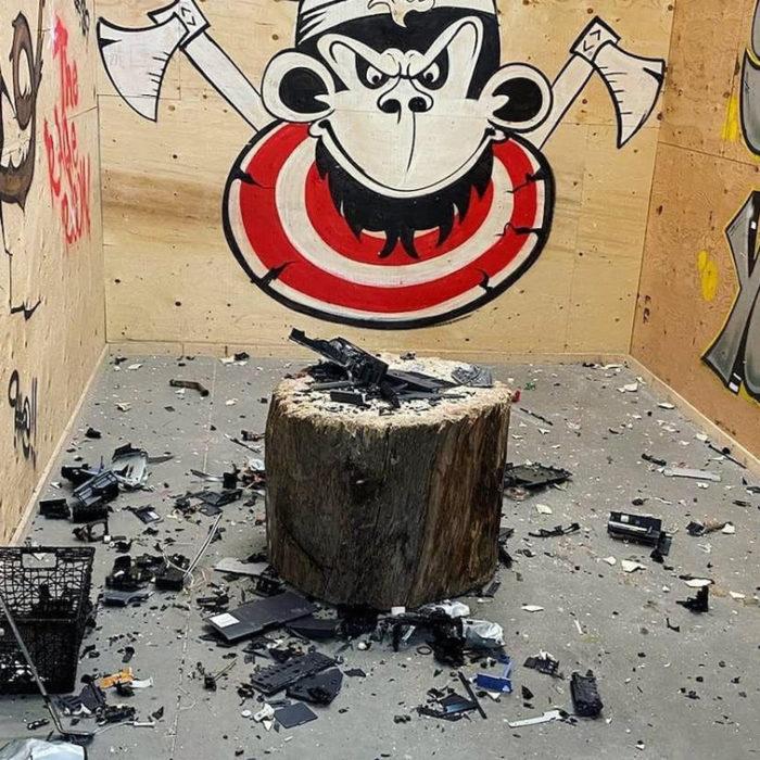 Rage Room Axe Monkeys Edmonton Explore Edmonton 2