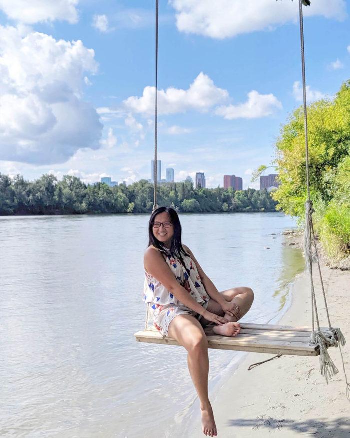 River Valley Swing - Explore Edmonton - Adventure - River Valley