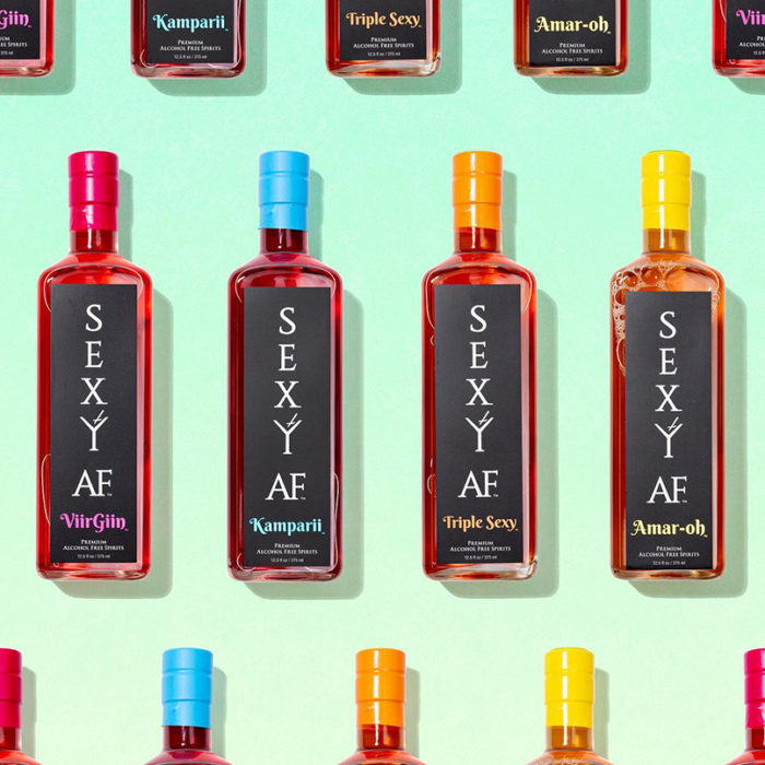 Sexy AF Spirits Alcohol Free Non Alcoholic Drinks