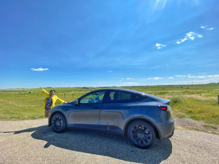 Tesla Model Y - Tesla Owners of Alberta - Edmonton Alberta - Explore Edmonton - Fancy Cars SUV Electric Vehicles Road Trip 2
